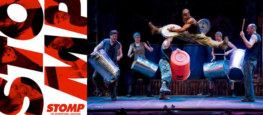 Stomp at Paramount Theatre