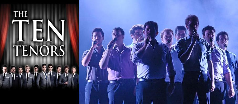 The Ten Tenors at Egyptian Theatre
