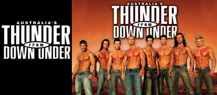 Thunder From Down Under at Egyptian Theatre